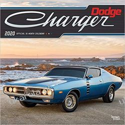 Dodge Charger 2020 Square Wall Calendar
