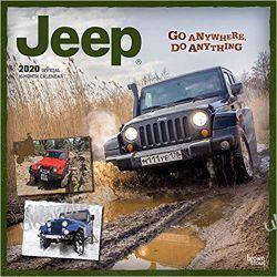 Jeep 2020 Square Wall Calendar