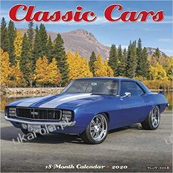 Kalendarz Classic Cars 2020 Calendar Książki i Komiksy