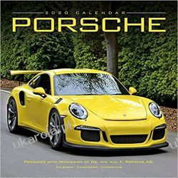 Kalendarz Porsche Calendar 2020