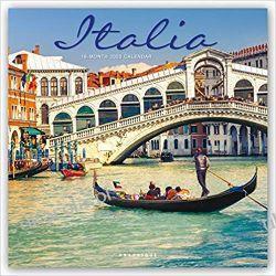 Kalendarz Italia 2020 Square Wall Calendar Włochy