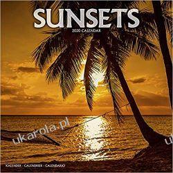 Kalendarz Sunsets Calendar 2020 zachody słońca Książki i Komiksy