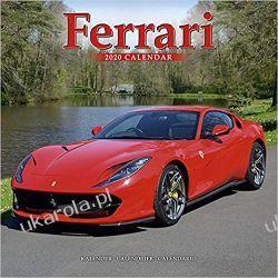 Kalendarz Ferrari Calendar 2020 Książki i Komiksy