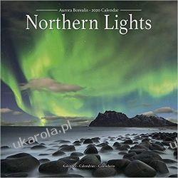 Northern Lights Calendar 2020 zorza polarna Książki i Komiksy