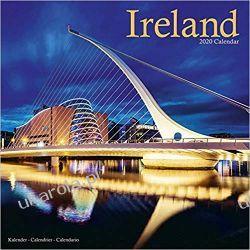 Kalendarz Ireland Calendar 2020 Irlandia Książki i Komiksy