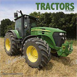 Kalendarz Tractors Calendar 2020 ciągniki traktory Książki i Komiksy