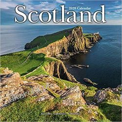 Scotland Calendar 2020 Szkocja Książki i Komiksy