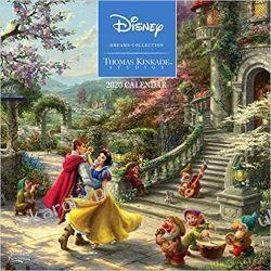 Thomas Kinkade Studios Disney Dreams Collection 2020 Square Wall Calendar