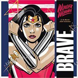 Kalendarz Wonder Woman Classic 2020 Calendar Historyczne