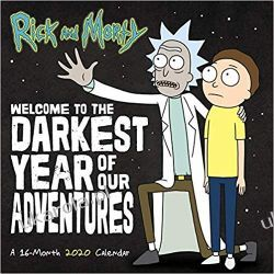 Rick and Morty 2020 Calendar