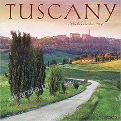 Tuscany 2020 Calendar toskania Włochy