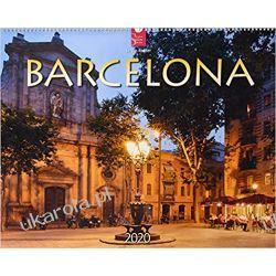 Kalendarz Barcelona 2020 Calendar 60x48 cm Marynarka Wojenna