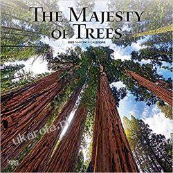 Majesty of Trees, The 2020 Square Wall Calendar drzewa Angielski