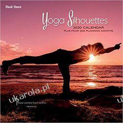 Yoga Silhouettes 2020 Square Wall Calendar joga Kalendarze ścienne