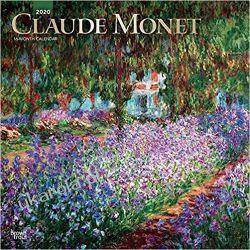 Monet Claude 2020 Square Wall Calendar Pozostałe