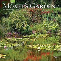 Monet's Garden 2020 Square Wall Calendar ogrody natura Moneta Pozostałe