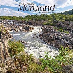 Wild & Scenic Maryland 2020 Calendar Zagraniczne