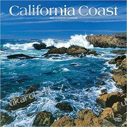California Coast 2020 Square Wall Calendar Kalendarze ścienne