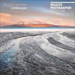 Wildlife Photographer Of The Year Landscapes 2020 Square Wall Calendar  Kalendarze ścienne