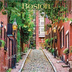 Kalendarz Boston 2020 Square Wall Calendar USA Broń pancerna