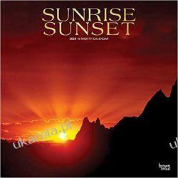Sunrise Sunset 2020 Square Wall Calendar wschody zachody słońca Dokumentalne