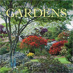 Country Gardens 2020 Square Wall Calendar wiejskie ogrody Broń pancerna