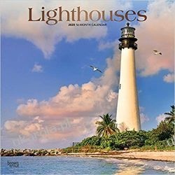 Lighthouses 2020 Square Wall Calendar latarnie morskie