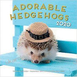 Kalendarz Adorable Hedgehogs 2020 jeże Pozostałe