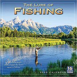 Kalendarz dla wędkarzy The Lure of Fishing 2020 Calendar