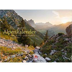 Kalendarz Ackermanns Alpenkalender 2020 Calendar The Alps Alpy Kalendarze ścienne