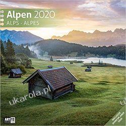 Kalendarz górski Alpen 2020 Alpy Calendar Biografie, wspomnienia