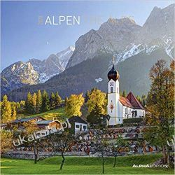 Kalendarz góry Alpen 2020 - The Alps Calendar