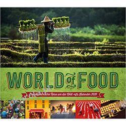 Kalendarz World of Food 2020 Calendar jedzenie