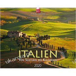 Kalendarz Włochy Italien - von Südtirol bis Kalabrien 2020 Calendar Italy