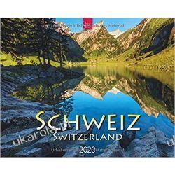 Kalendarz Schweiz - Switzerland 2020 Calendar Szwajcaria