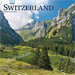Switzerland 2020 Square Wall Calendar Szwajcaria