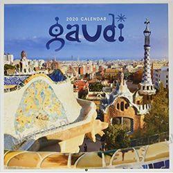 Kalendarz Gaudí 2020 Calendar Barcelona