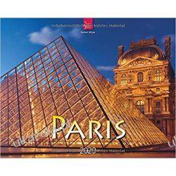 Kalendarz Paris 2020 Calendar Francja Paryż