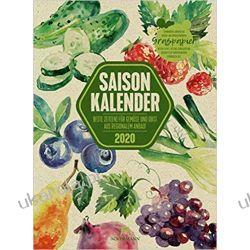 Kalendarz Kuchenny Saisonkalender Gemüse & Obst 2020 Warzywa Calendar