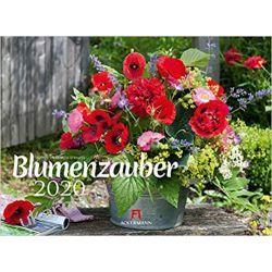 Kalendarz Kwiaty Blumenzauber 2020 Calendar