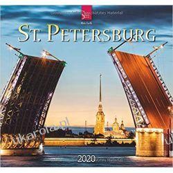 Kalendarz St. Petersburg 2020 Calendar Zestawy, pakiety