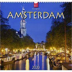 Kalendarz Amsterdam 2020 Calendar Kalendarze ścienne