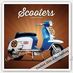Kalendarz Scooters - Motorroller 2020 Calendar Pozostałe