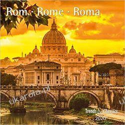 Kalendarz Rzym Włochy Rome 2020 Calendar Lotnictwo