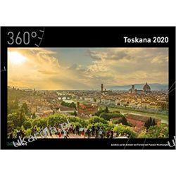 Kalendarz Włochy 360 Italy - Tuscany calendar 2020 Calendar