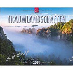 Kalendarz Krajobrazy Dream landscapes 2020 Calendar Kalendarze ścienne