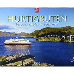 Kalendarz Rejsy Hurtigruten 2020 Calendar