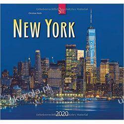 Kalendarz Nowy Jork 2020 New York Calendar