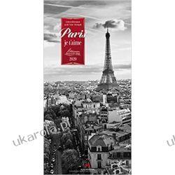 Kalendarz Paryż Paris, je t'aime 2020 Calendar Historyczne