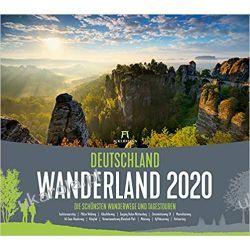 Kalendarz Najpiękniejsze szlaki turystyczne w Niemczech 2020 Germany's most beautiful hiking trails Calendar Projektowanie i planowanie ogrodu